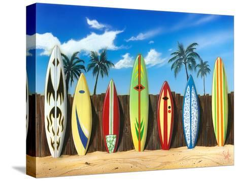 Starting Lineup-Scott Westmoreland-Stretched Canvas Print