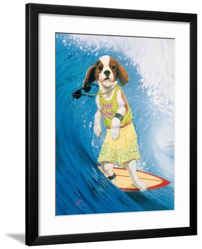 Surf Dawg-Scott Westmoreland-Framed Art Print