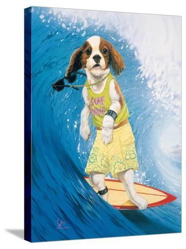 Surf Dawg-Scott Westmoreland-Stretched Canvas Print