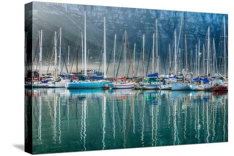 Hout Bay Harbor, Hout Bay South Africa-Richard Silver-Stretched Canvas Print