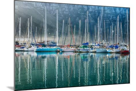 Hout Bay Harbor, Hout Bay South Africa-Richard Silver-Mounted Photographic Print