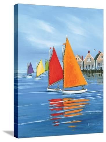 Mariner?s Landing-Sally Caldwell Fisher-Stretched Canvas Print