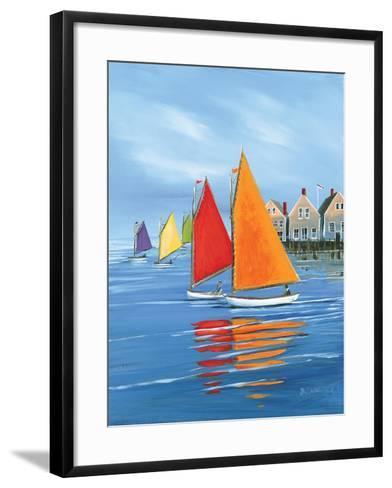 Mariner?s Landing-Sally Caldwell Fisher-Framed Art Print