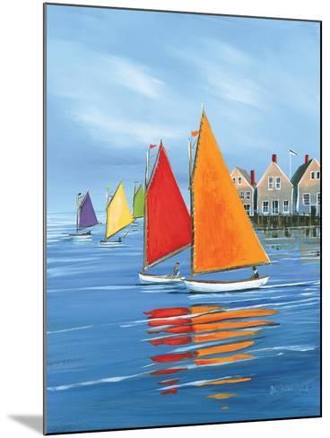 Mariner?s Landing-Sally Caldwell Fisher-Mounted Art Print