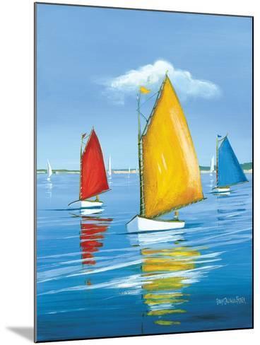 Newport Regatta-Sally Caldwell Fisher-Mounted Art Print