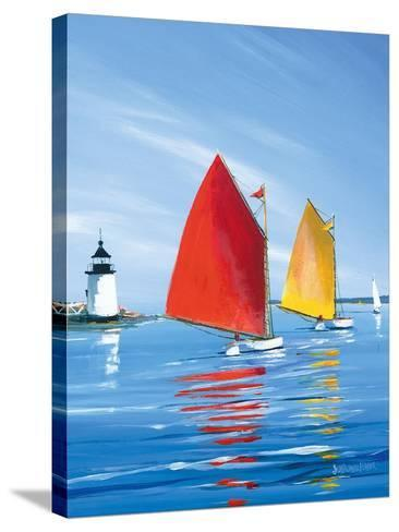 Horizon Light-Sally Caldwell Fisher-Stretched Canvas Print