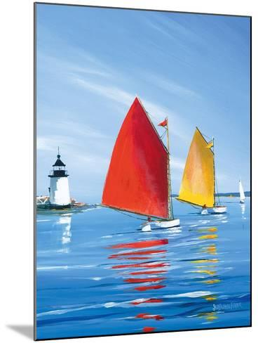 Horizon Light-Sally Caldwell Fisher-Mounted Art Print