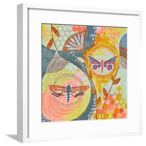 Uncontained-Jessica Swift-Framed Art Print