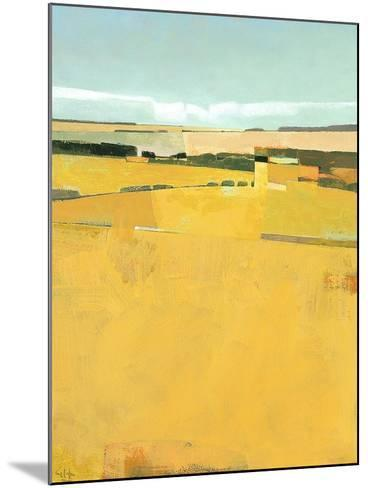 Fence Lines and Fields-Greg Hargreaves-Mounted Art Print