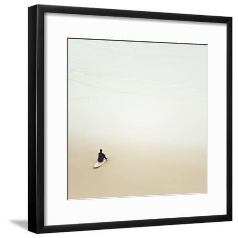 Waiting for the Waves-Margaret Morrissey-Framed Art Print