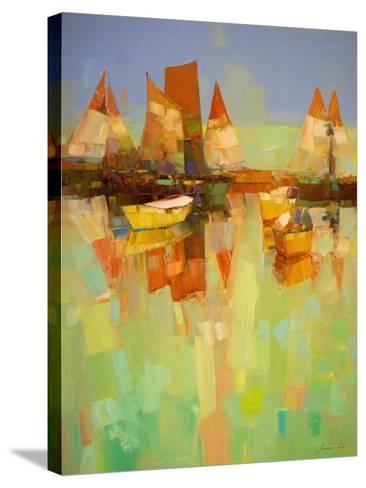 Harbor-Vahe Yeremyan-Stretched Canvas Print
