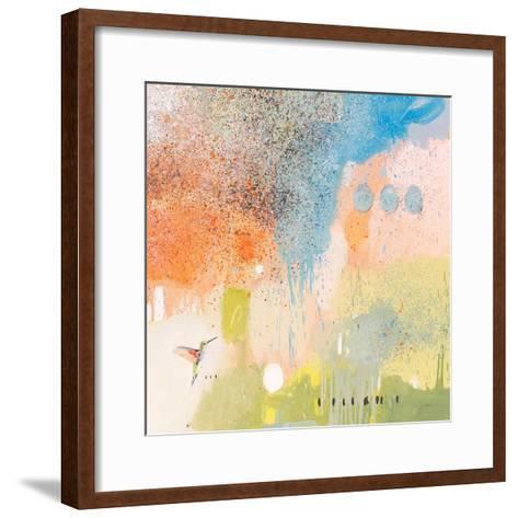 Hummingbird at Home 1-Anthony Grant-Framed Art Print