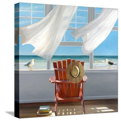 Lookout-Karen Hollingsworth-Stretched Canvas Print