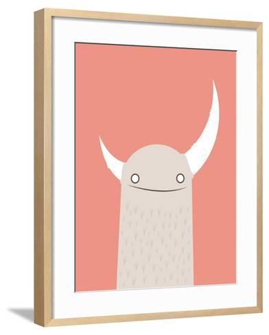 Moonster-Volkan Dalyan-Framed Art Print