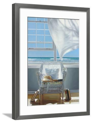 Sundrenched-Karen Hollingsworth-Framed Art Print