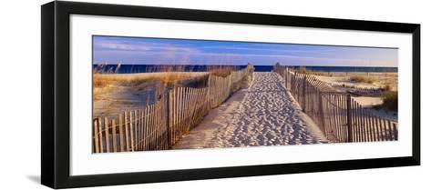 Pathway to the Beach-Joseph Sohm-Framed Art Print