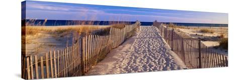 Pathway to the Beach-Joseph Sohm-Stretched Canvas Print
