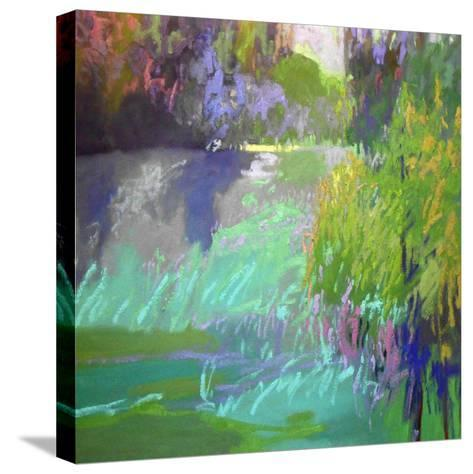Flowing Through-Jane Schmidt-Stretched Canvas Print