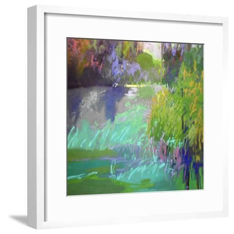 Flowing Through-Jane Schmidt-Framed Art Print