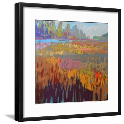 Colorfield XXII-Jane Schmidt-Framed Art Print