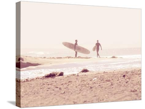 Board Meeting-Myan Soffia-Stretched Canvas Print