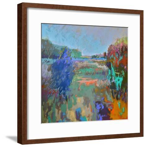 Color Field 45-Jane Schmidt-Framed Art Print