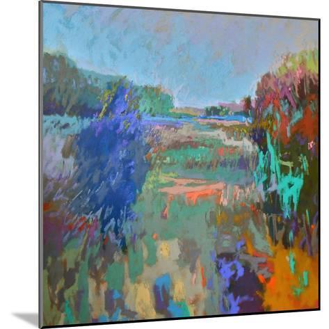 Color Field 45-Jane Schmidt-Mounted Art Print