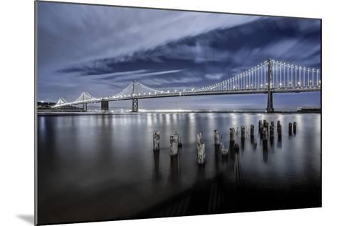 The Bay Lights-Toby Harriman Visuals-Mounted Photographic Print