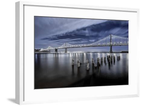 The Bay Lights-Toby Harriman Visuals-Framed Art Print