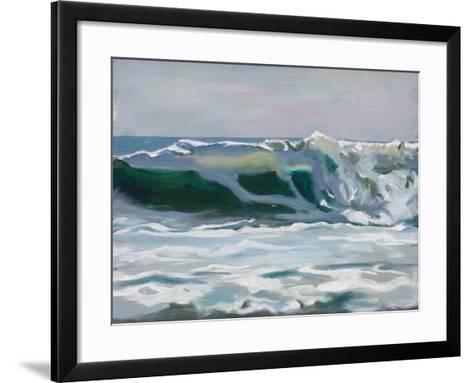 Shore Break 2-Stephen Newstedt-Framed Art Print