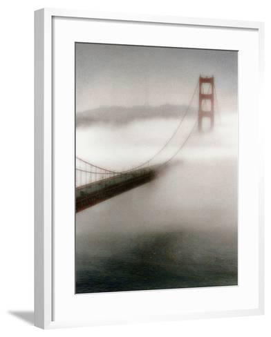 The Fog Comes In-Laura Culver-Framed Art Print