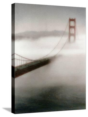 The Fog Comes In-Laura Culver-Stretched Canvas Print