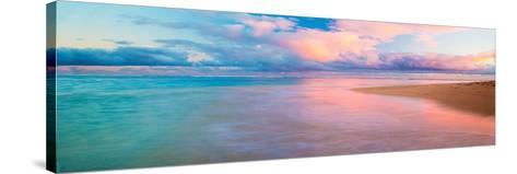 Haena Beach-Jeffrey Murray-Stretched Canvas Print