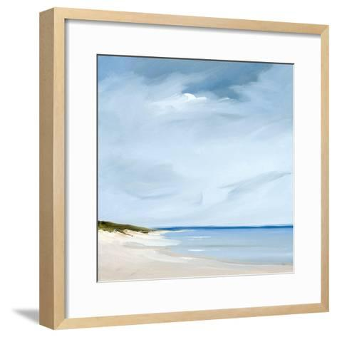 Blue-Rick Fleury-Framed Art Print