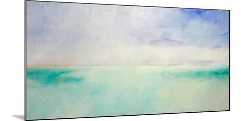 Green and Purple Sea and Sky-Skadi Engeln-Mounted Art Print