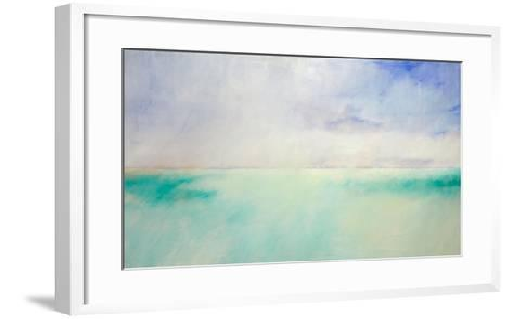 Green and Purple Sea and Sky-Skadi Engeln-Framed Art Print