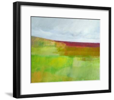 Dorset Green and Red-Skadi Engeln-Framed Art Print
