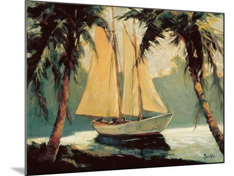 Sailboat, Santa Barbara-Frederick Alexander Pawla-Mounted Art Print