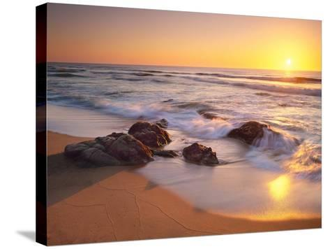 Pacific Calm-Christopher Foster-Stretched Canvas Print