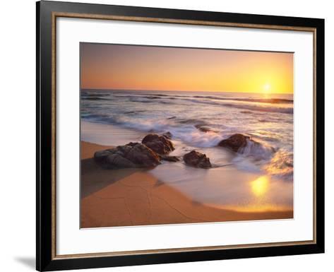 Pacific Calm-Christopher Foster-Framed Art Print