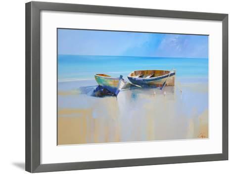 Afternoon Gulls-Craig Trewin Penny-Framed Art Print