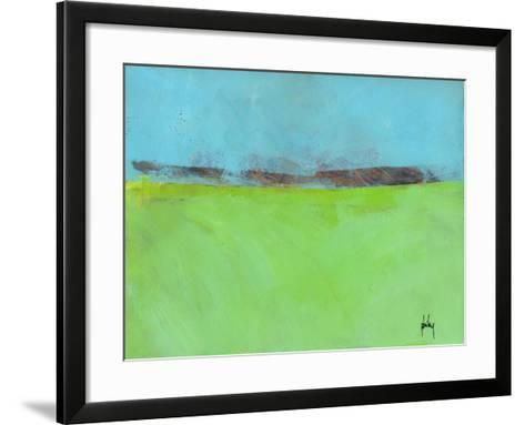 Low Distant Hills-Paul Bailey-Framed Art Print
