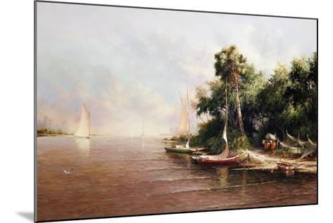 Fisherman Landing-Art Fronckowiak-Mounted Art Print