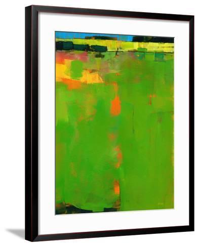 Green Field-Paul Bailey-Framed Art Print