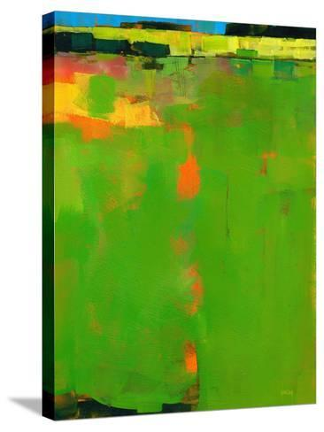 Green Field-Paul Bailey-Stretched Canvas Print
