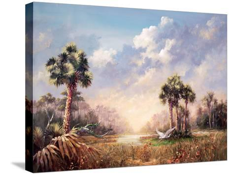 Golden Glades-Art Fronckowiak-Stretched Canvas Print