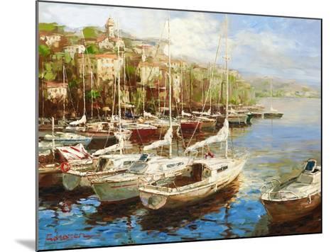 Harbor Bay-Furtesen-Mounted Art Print
