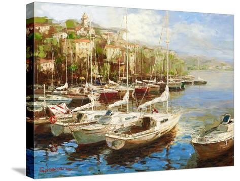 Harbor Bay-Furtesen-Stretched Canvas Print