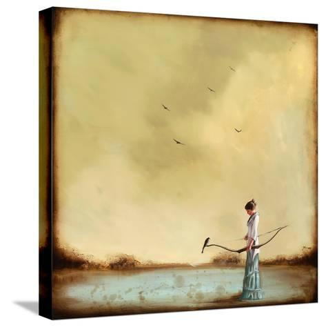 Second Thoughts-Alicia Armstrong-Stretched Canvas Print
