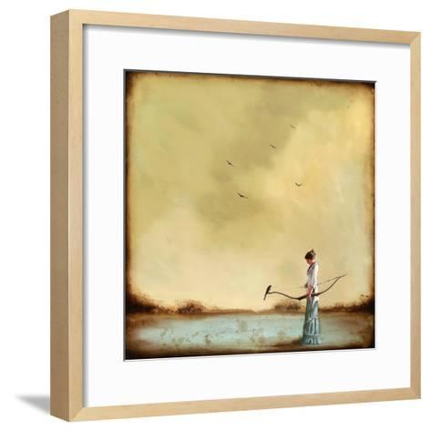 Second Thoughts-Alicia Armstrong-Framed Art Print